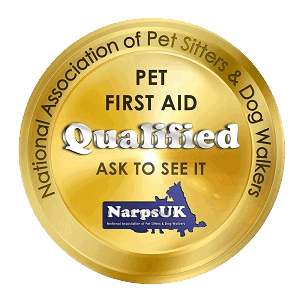 NarpsUK Pet First Aid Qualified